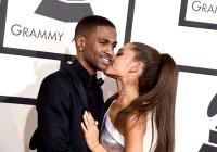 Big-Sean-Ariana-Grande-Grammys-PDA