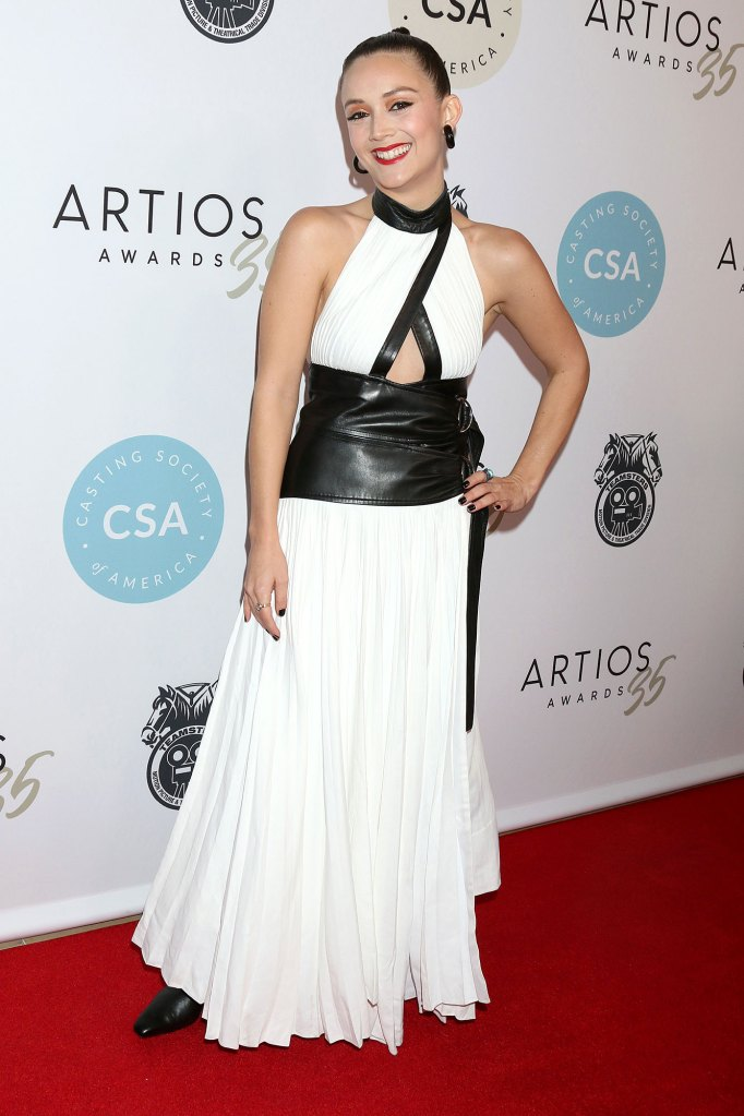 Billie Lourd 35th Annual CSA Artios Awards Wearing Proenza Schouler Booksmart Oscars Snub