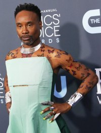 Billy Porter's Best Red Carpet Moments - 2020 Critics' Choice Awards