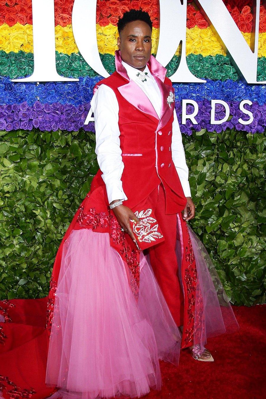 Billy Porter's Best Red Carpet Moments - 2019 Tony Awards
