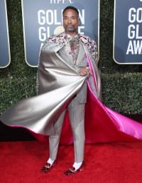 Billy Porter's Best Red Carpet Moments - 2019 Golden Globes