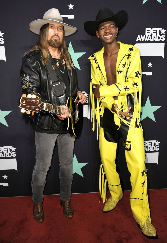 Billy Ray Cyrus and Lil Nas X BET Awards