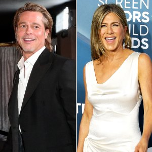Brad Pitt Yelled Aniston Aniston to Get Jens Attention After SAG 2020 Win