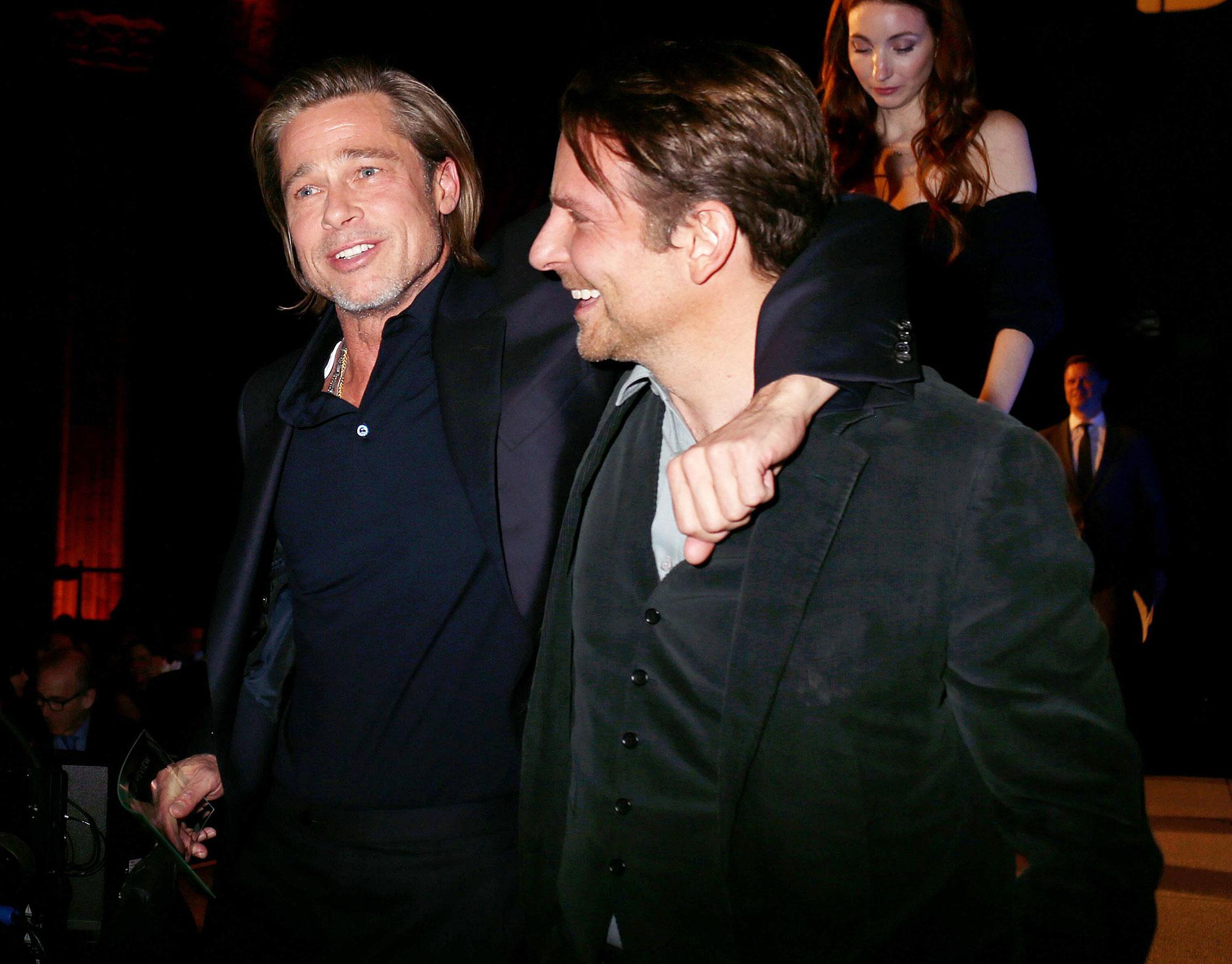 Brad Pitt Credits Bradley Cooper With Helping Him Get Sober