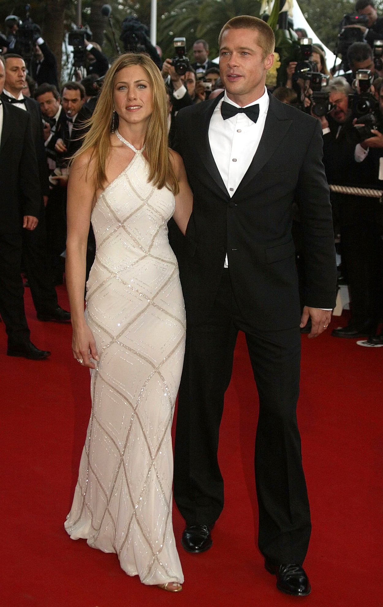 Jennifer Aniston and Brad Pitt's best red carpet moments: pictures