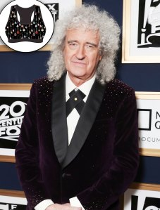 Brian May by Queen Designs Sports bra for guitar