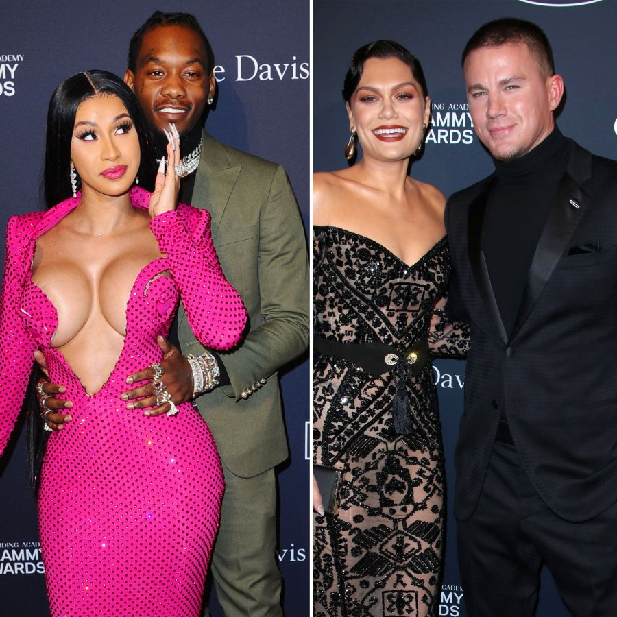Cardi B, Offset Jessie J and Channing Tatum Inside 2020's Biggest Pre-Grammy Parties