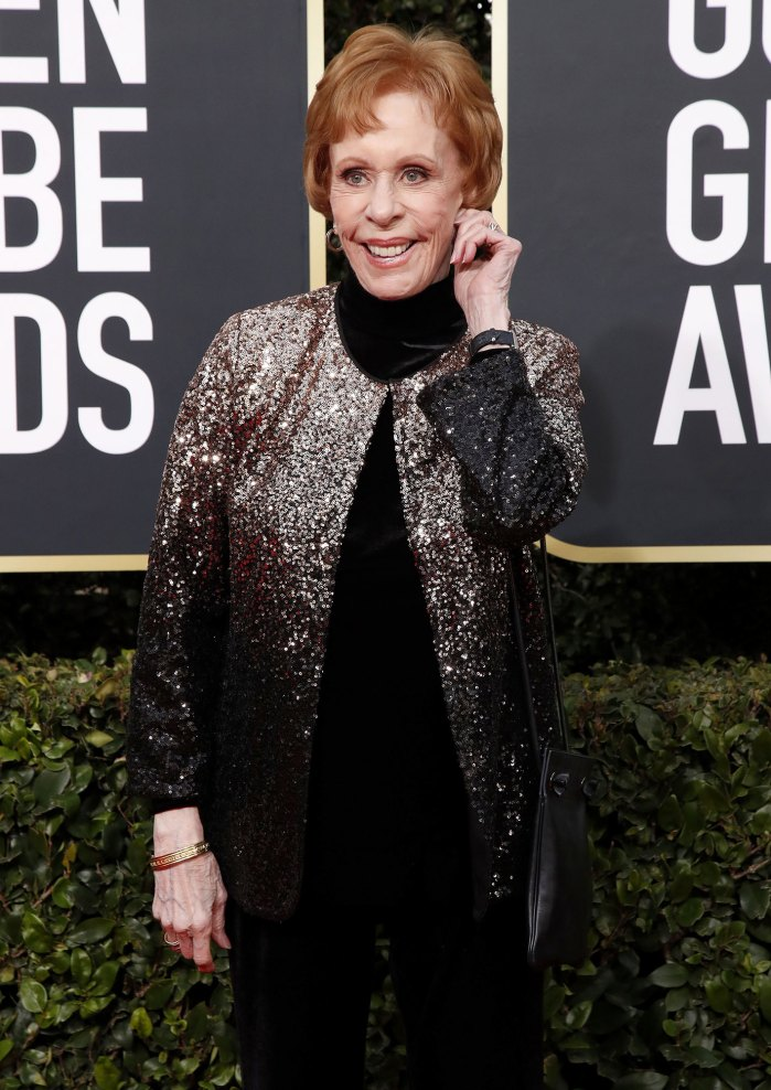 Carol Burnett Golden Globes 2020