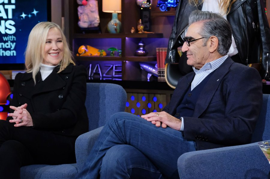 Catherine O'Hara, Eugene Levy Watch What Happens Live Used To Date