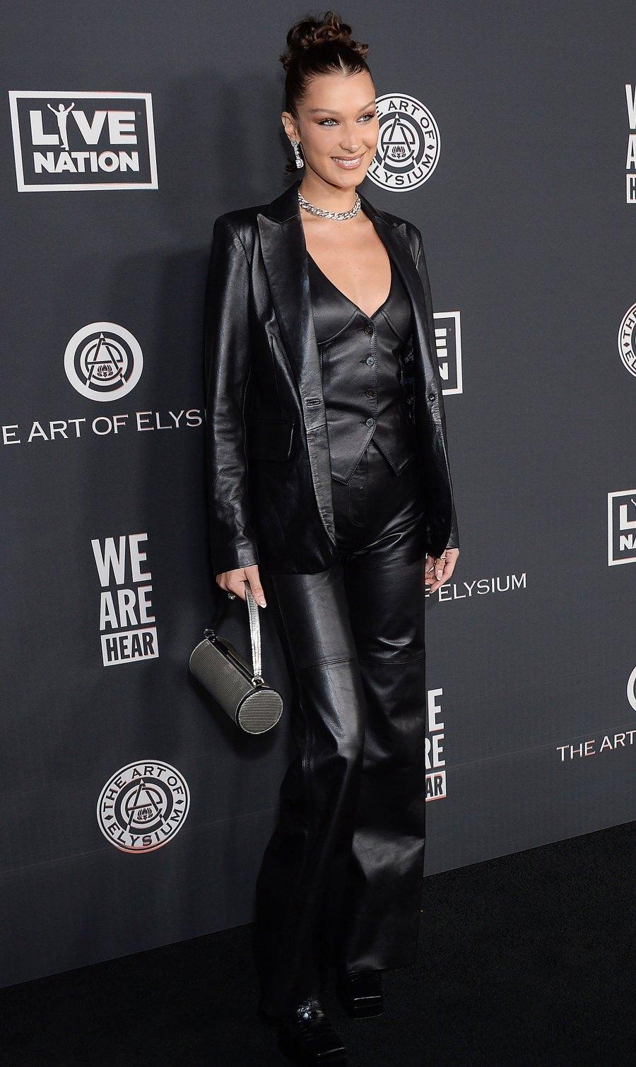 Celebrities Wearing Rent the Runway - Bella Hadid