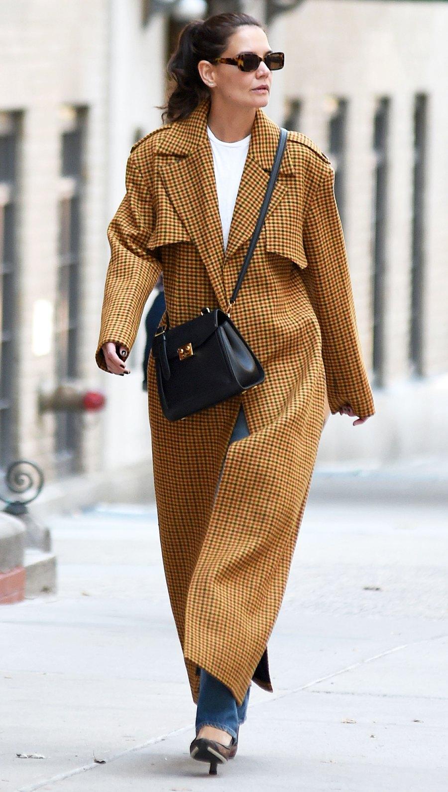 Celebrities Wearing Rent the Runway - Katie Holmes