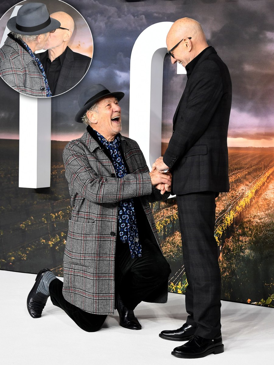 Celebrity Bromances Ian McKellen and Sir Patrick Stewart