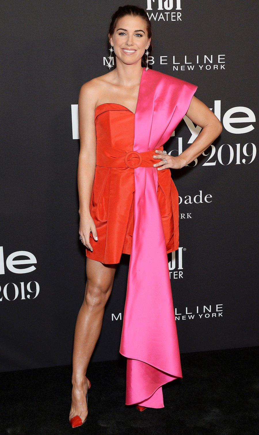 Celebs Wearing Red and Pink - Alex Morgan