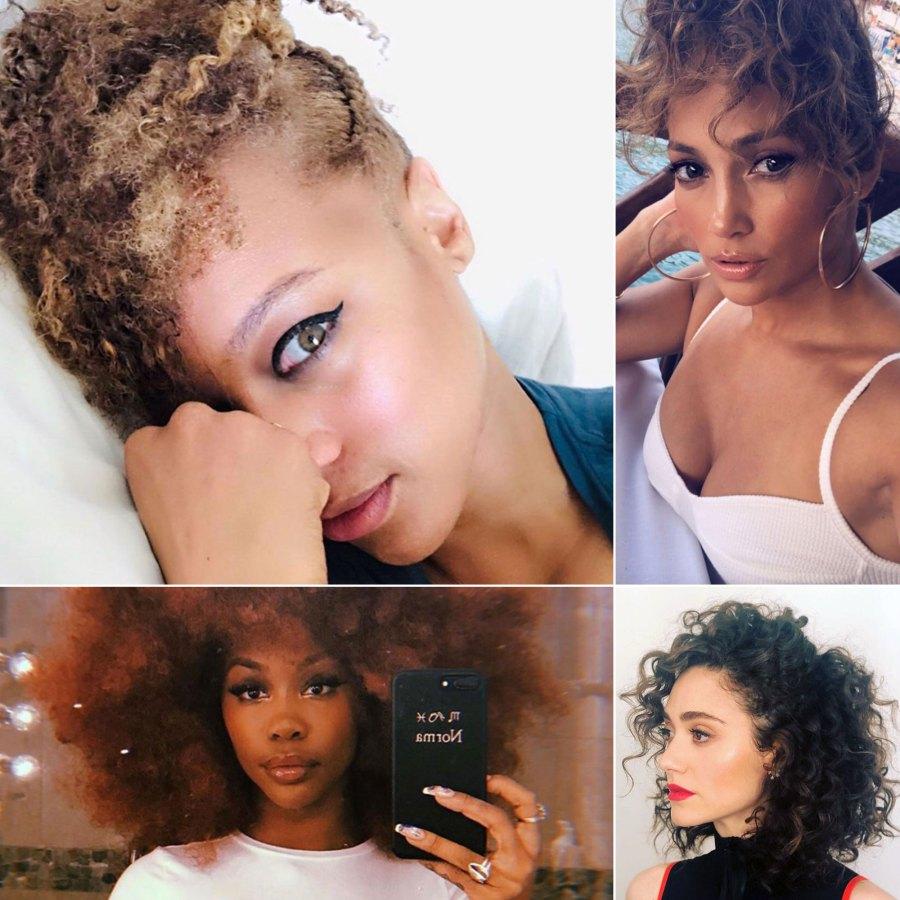 Celebs Wearing Curls