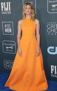 Celebs Wearing Orange - Laura Dern