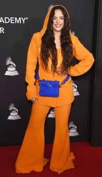Celebs Wearing Orange - Rosalia