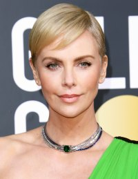 Charlize Theron Best Hair and Makeup Golden Globes 2020