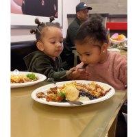 True Thompson's Baby Album Chicago Feeding True
