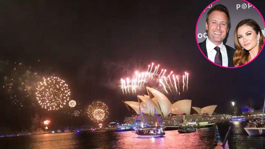 Chris Harrison and Lauren Zima How the Stars Celebrated New Years Eve 2020