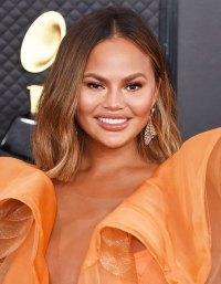 Chrissy Teigen Grammys 2020 Wildest Hair and Makeup