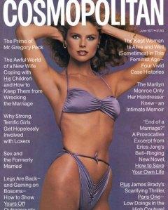 Christie Brinkley Throwback Cosmopolitan Bikini Cover