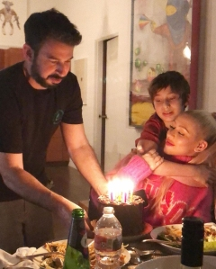 Christina Aguilera Celebrates Birthday With Ex-Husband and Son Max
