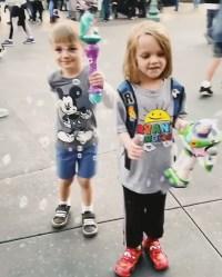 Christina-Aguilera-and-Fiance-Matthew-Rutler-Take-Kids-to-Disneyland