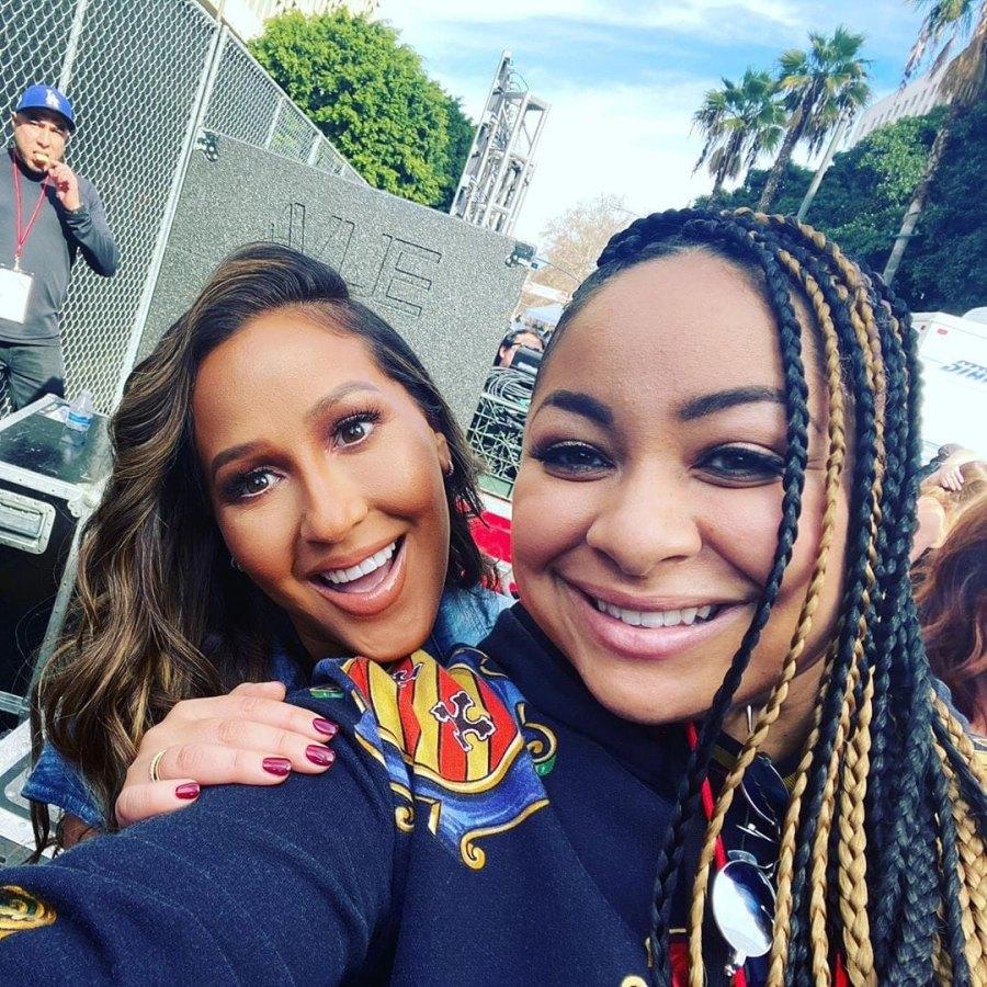 Costars Reunited Cheetah Girls Adrienne Bailon and Raven-Symoné