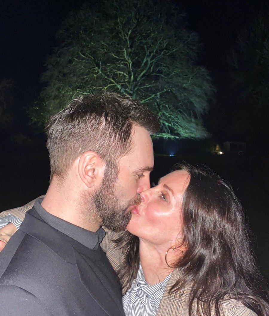 Courteney Cox and Johnny McDaid How the Stars Celebrated New Years Eve 2020