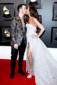 Danielle Kevin Jonas Grammys 2020