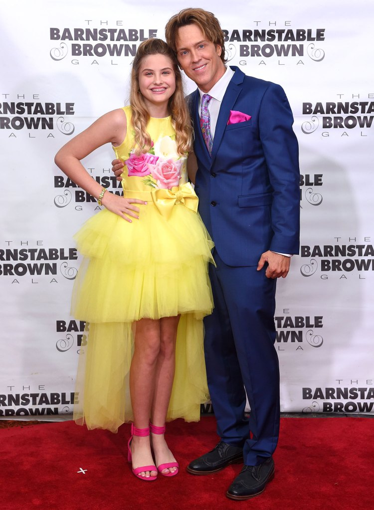 Larry Birkhead Reveals How Daughter Danniellynn Reminds Him of Anna Nicole Smith Barnstable Brown Kentucky Derby Eve Gala