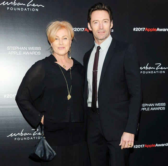 Deborra-Lee Furness and Hugh Jackman at the 2017 Urban Zen Stephan Weiss Apple Awards Reveals What She Loves Most About Her Marriage to Hugh Jackman