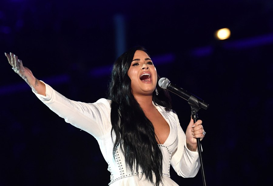 Demi Lovato Hits Grammys Stage in Comeback Performance Grammys 2020