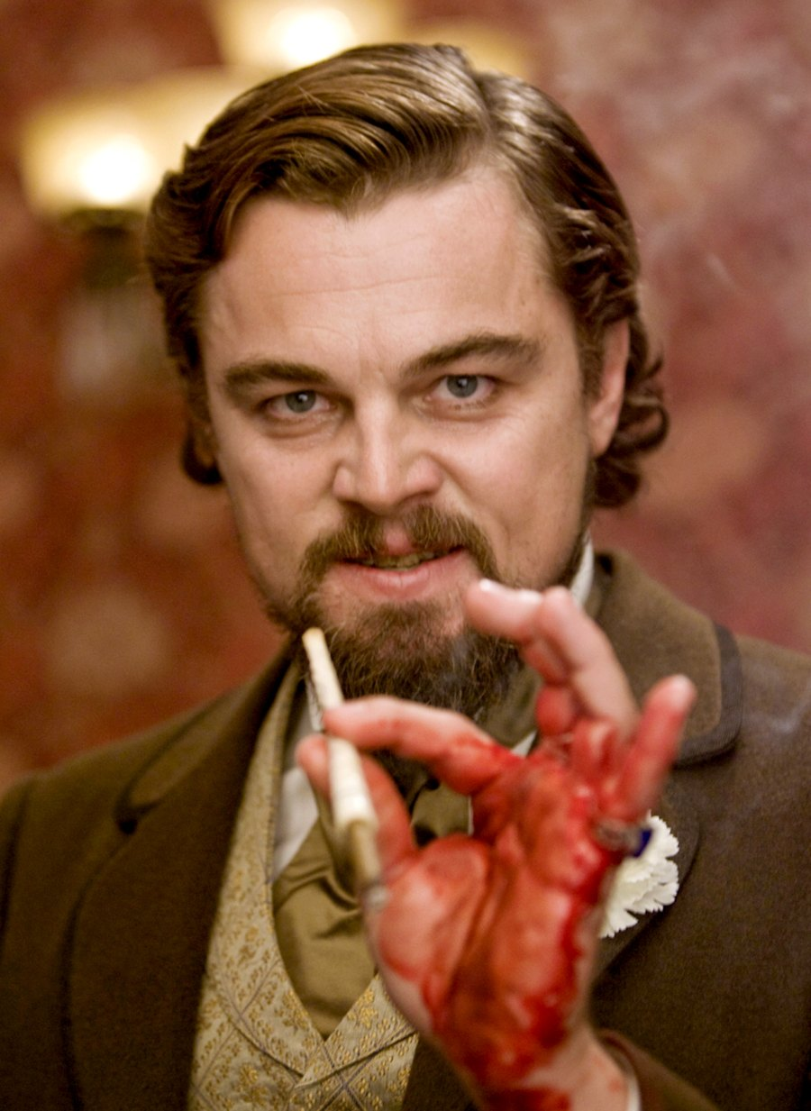 Django-Unchained-Leonardo-Dicaprio-injury