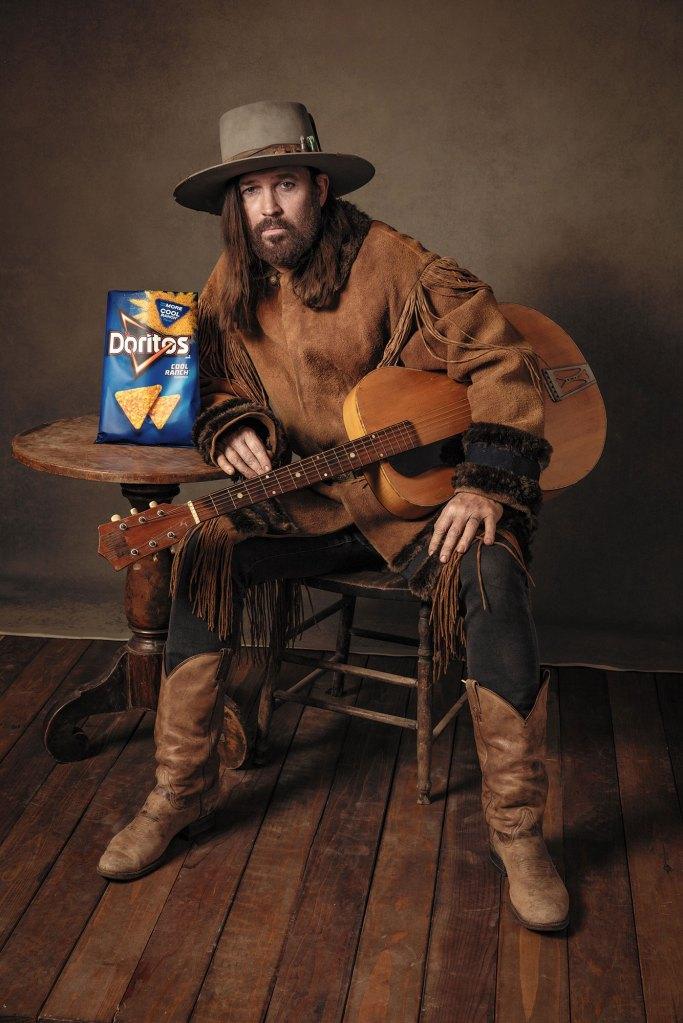 Doritos Cool Ranch Billy Ray Cyrus Cowboy Old West