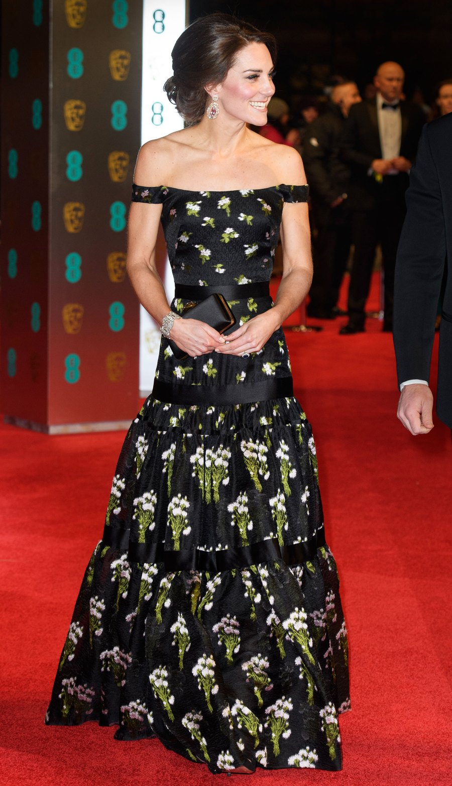Duchess Kate and Prince William BAFTA Awards Red Carpet Appearances - 2017