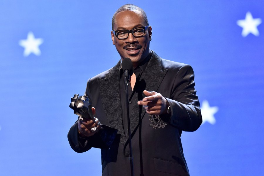 Eddie Murphy - Lifetime Achievement Award Critic's Choice Awards 2020