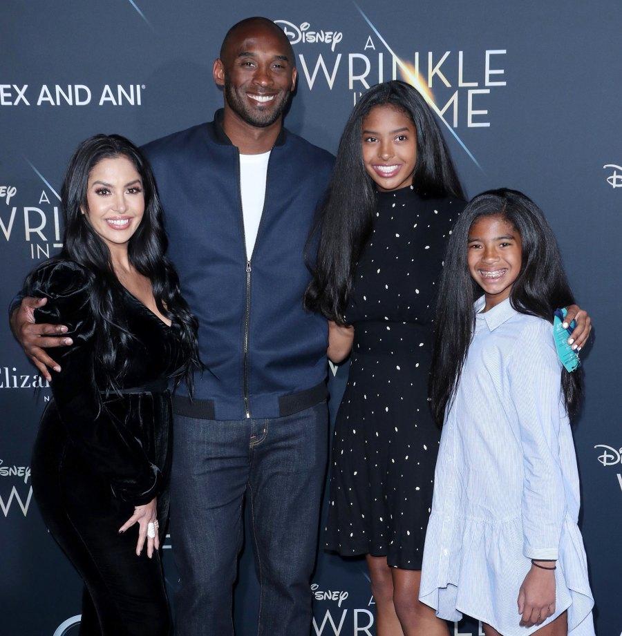 Family Man Kobe Bryant, Vanessa Laine, Gianna Bryant and Natalia Bryant Kobe Bryant Quotes Gallery