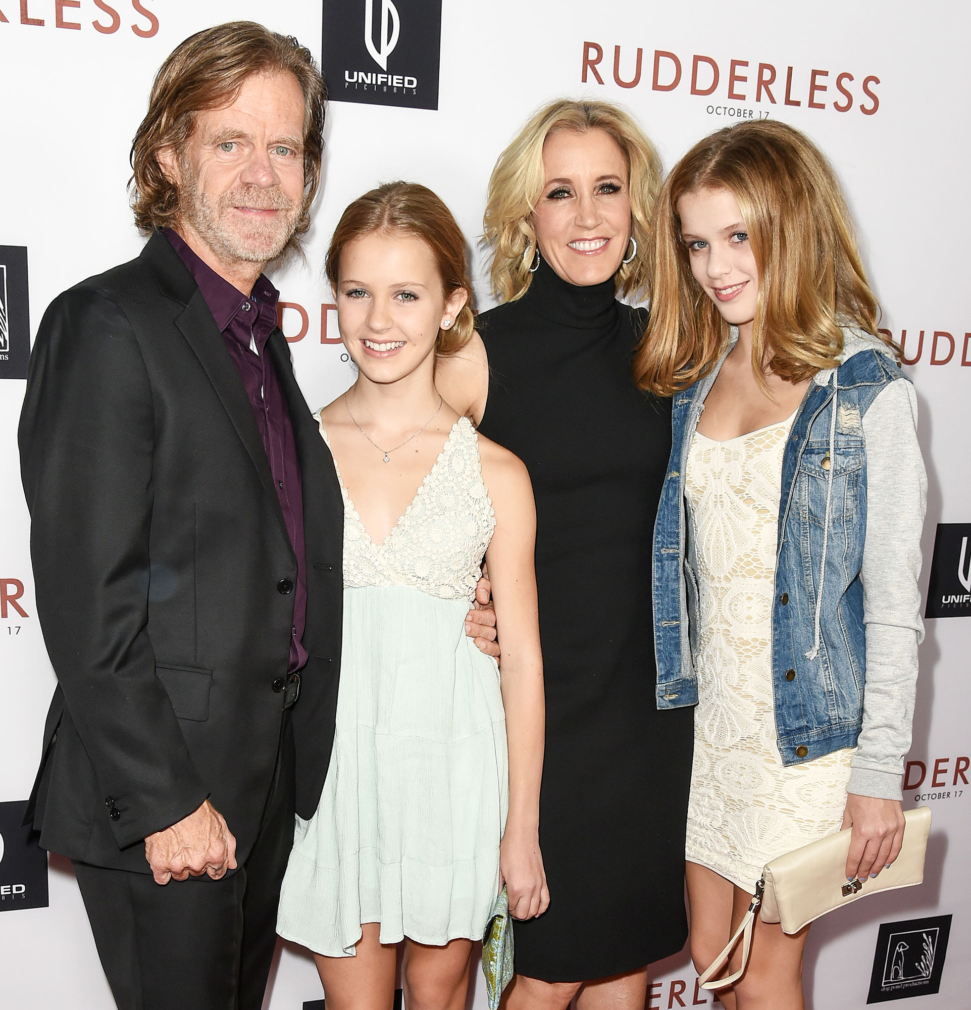William H Macy Grace Macy Felicity Huffman and Sophia Macy in 2014 Felicity Huffmans Daughter Sophia Macy Cast in Season Two of The Twilight Zone