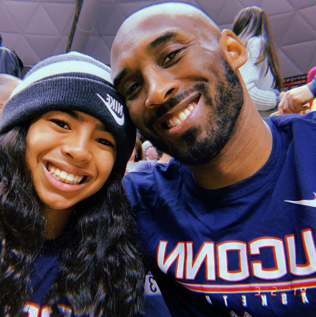 Gianna-Bryant-Honored-With-a-Jersey-From-UConn-Women's-Basketball-Team