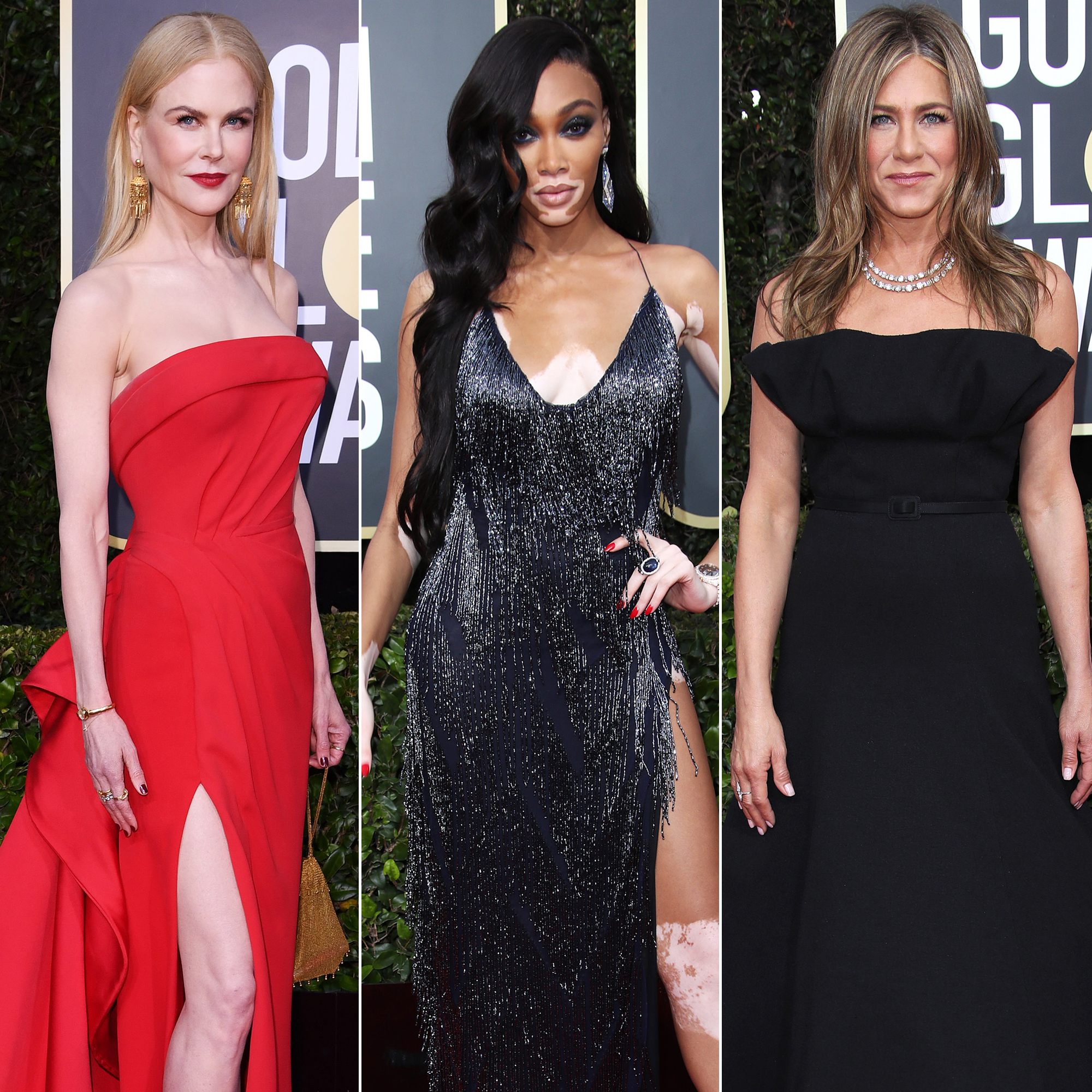 Golden Globes 5 Red Carpet Fashion: See Celeb Dresses, Gowns