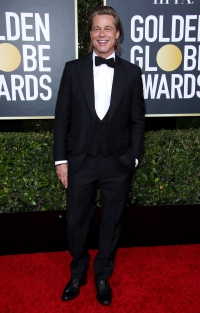 Golden Globes 2020 Hottest Hunks - Brad Pitt