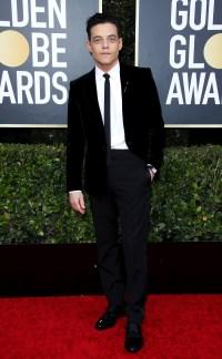 Golden Globes 2020 Hottest Hunks - Rami Malek