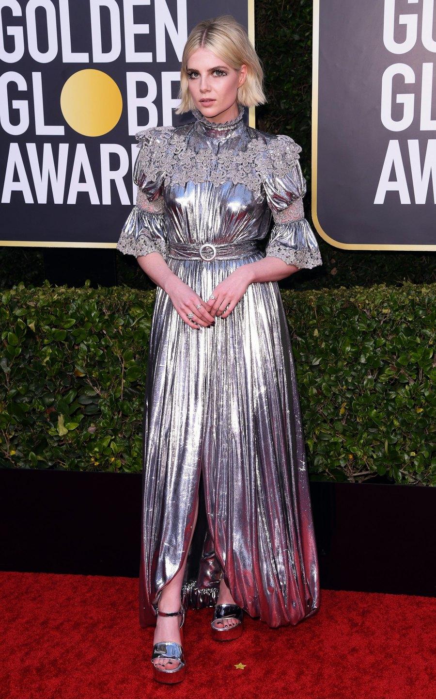 Golden Globes 2020 - Lucy Boynton