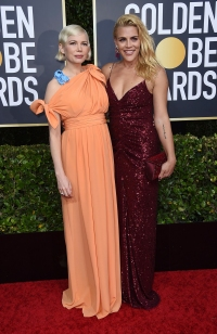 Golden Globes 2020: Michelle Williams Shows Off Baby Bump With Fiance Thomas Kail