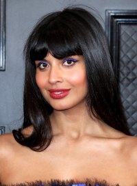 Jameela Jamil Grammys 2020 Wildest Hair and Makeup