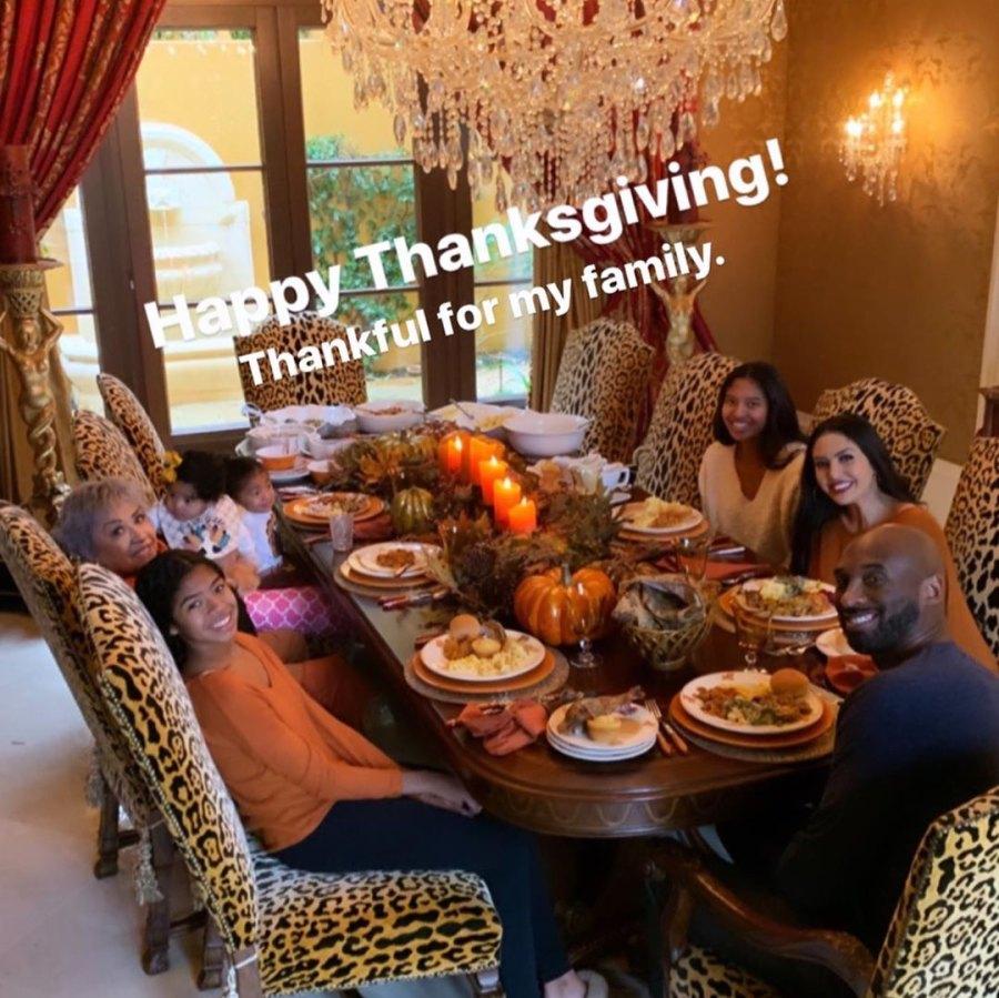 Grateful Guy Kobe Bryant Family Album Thanksgiving