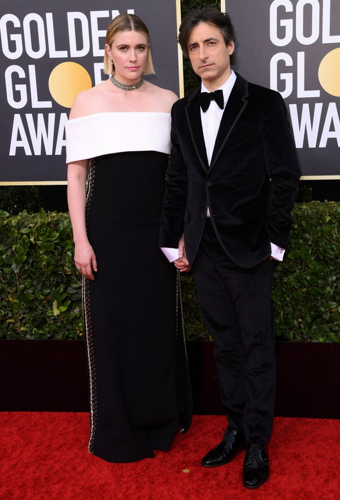 Greta Gerwig and Noah Baumbach Little Women Golden Globes 2020