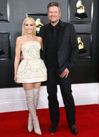 Gwen Stefani Says Blake Shelton Played a Major Role in Her Grammys 2020 Look