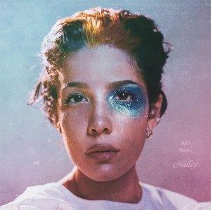 "Halsey Recreates ""Manic"" Album Cover Makeup"